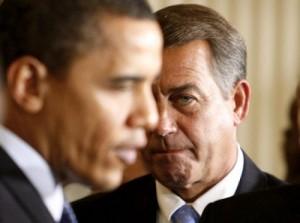 House Speaker John Boehner & President Barack Obama