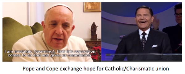Pope Francis' & Kenneth Copeland
